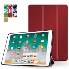 "iPad Pro 9.7 Case Smart Cover Stand Hard Back Auto Sleep Wake 9.7"" 2016 Red"