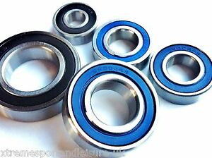 6200 2RS - 6206 2RS SERIES HIGH PERFORMANCE CARTRIDGE BEARINGS Chrome/Stainless