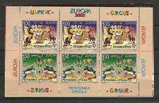 CEPT 2002/Bosnia-Erzegovina-Serb MiNr 241/42 D ** nel MH 5