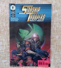 Starship Troopers, Insect Touch, nº 1 de 3, Dark Horse Comic, Warren Ellis, 1997