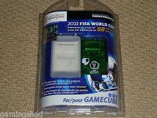 NINTENDO GAMECUBE & WII Tarjeta de memoria 4 MB 4 MB verde nuevo caso FIFA World Cup