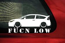 Citroen C4 Coupe fukn low sticker.For C4 (1st Gen) VTS / VTi 16v  / THP Turbo