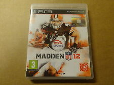 PS3 GAME / MADDEN NFL 12 (2012) (EA SPORTS) (PLAYSTATION)