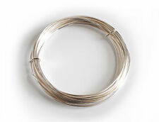 10x Silver Plated Copper Cored Wire .8mm x 6m. Hobby, Jewellery, Modelling X1108