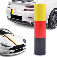 1.5M German Flag Stripe Sticker Car Auto Hood Body Roof Bumper Decal  Decor DIY