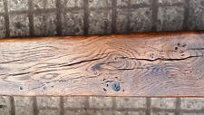 """OAK BEAMS RUSTIC FIRE PLACE WOOD BURNER TIMBER OAK 4"""" x 5"""" @ 120cm long"""