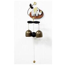 Handicraft Door Brass Bell Korea Shop Keepers Elephant-shaped Attached Magnet 01