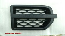 MATT BLACK SIDE VENT GRILLE FOR LAND ROVER L319 DISCOVERY 3 2004-2009