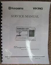 Husqvarna viking designer 1 service manual.