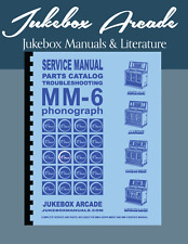 Complete AMI / Rowe Model MM-6 Service Manual & Parts Catalog, Jukebox Arcade