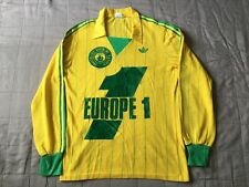 Adidas Ventex Production FC Nantes football shirt 80s bob marley made in franceS