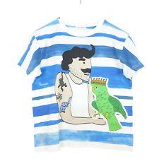 DOLCE & GABBANA T-Shirt Boys Ringel Pirat Papagei Gr. 7/8 122 128