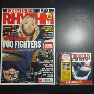 Rhythm Magazine November 2007 No.- (279) (With CD) Foo Fighters The Beatles