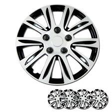 New 15 inch Hubcaps Silver Rim Wheel Covers Hub Cap Full Lug Skin For Mazda 547