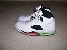 SZ 11 NIKE AIR JORDAN V Poison Green 136027-115 GRAPE Metallic Red IV Cement III