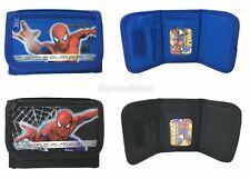Spiderman wallet Set of 2 Children Boys Girls Wallet Kids Cartoon Coin Purse