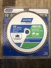 Norton 10 Wetdry Turbo Diamond Saw Blade New 50515 038