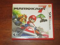 Mario Kart 7 (Nintendo 3DS) Game W/ Case & Manual EXCELLENT COND.