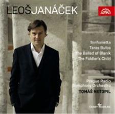 Leos Janacek: Sinfonietta/Taras Bulba/The Ballad of Blanik/...  CD NEW