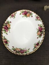 ROYAL ALBERT OLD COUNTRY OVAL VEGETABLE    Serving Tureen 24 Cm 1st Quality