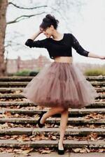 Polyester Regular Size Vintage Skirts for Women