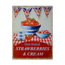 FRAGOLE British & CREAM cucina Cafe & RISTORANTE qualità Frigo Calamita