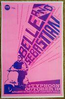 BELLE AND SEBASTIAN 2010 Gig POSTER Portland Oregon Concert Version 2