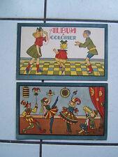 ALBUM A COLORIER  ANCIEN  /  FORMAT 23 X 15 / ANNEE 50 60