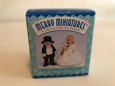 Madame Alexander Hallmark Merry Miniatures Bride and Groom 2 Piece Set New in Bo