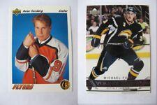 1991-92 Upper Deck #64 Forsberg Peter english RC Rookie  flyers