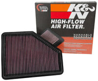 33-3051 K&N Air Filter fits BMW 1/2/3/4 Series 2015- inc M140i M240i 330i 440i