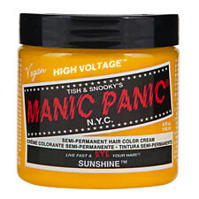 Sunshine Yellow Manic Panic Vegan 4 Oz Hair Dye Color