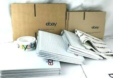 Ebay Branded Shipping Supplies Kit Lot Boxes Padded Envelopes Tape Tissue 37 Pcs