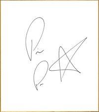 Prince Puma Signed Shikishi Art Board BAS Beckett COA Lucha Underground Ricochet
