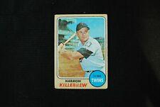 🌟 HARMON KILLEBREW 1968 Topps #220 HOF Twins - Clean VG-EX - $30