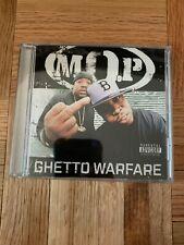 M.O.P. GHETTO WARFARE ORIG 2006 CD OOP PARENTAL ADVISORY RARE Dj Premier