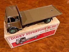 Vintage Dinky Supertoys | MIB | Guy Flat Bed | Rare Color | No. 512