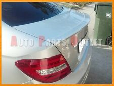 2012-2014 M-Benz C204 C-Class Coupe AMG Look Trunk Boot Spoiler (#775 Silver)