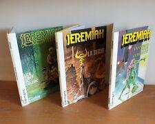 3 E.O. de la série Jérémiah N° 5-6-8  Hermann bon état