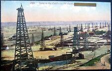 BAKERSFIELD CA ~ 1900's Scene in the California Oil Fields