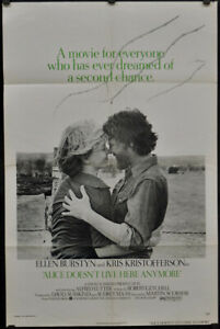 ALICE DOESN'T LIVE HERE ANYMORE 1974 ORIG 27X41 MOVIE POSTER KRIS KRISTOFFERSON