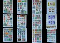 World Stamp Collection Mix South America Netherlands India Pakistan Scandinavia