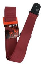 Guitar Strap Red Polypropylene D'Addario Planet Waves PWS101