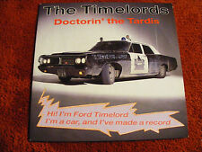 """Timelords    Doctorin'    The    Tardus     1988    7""""   Vinyl   Single   Record"""