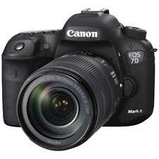 CANON EOS 7D Mark II Camera EF-S18-135 IS USM Lens Kit W-E1 Japan Version New