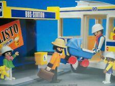 K190029 BUS STATION SET MISB MINT IN SEALED BOX 1988 PLAYMOBIL 3782 VINTAGE