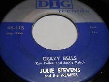 """Julie Stevens-""""Crazy Bells"""" Dig 115 VG to VG+"""