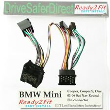 ISO-SOT-0440-z Cable for Parrot MKi9200,MKi9100 BMW Mini Cooper,One- round pin