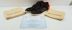 Men's Louis Vuitton Damier Ebene Sneakers SZ 9.5