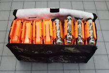 8x NERF N-STRIKE Elite 6 DART CLIPS FITS NERF RAMPAGE RETALIATOR With Carry Bag